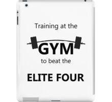 Elite Four Gym Shirt iPad Case/Skin