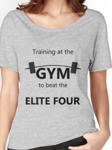 Elite Four Gym Shirt Women's Relaxed Fit T-Shirt