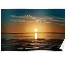 Sunset at Stanley Poster