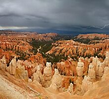 Storm over Bryce Canyon. by Alex Preiss