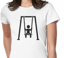 Children swing Womens Fitted T-Shirt