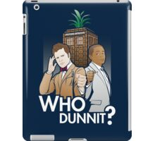 Who Dunnit? Psych Doctor Who iPad Case/Skin