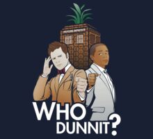 Who Dunnit? Psych Doctor Who Kids Tee