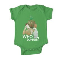 Who Dunnit? Psych Doctor Who One Piece - Short Sleeve