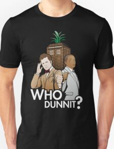 Who Dunnit? Psych Doctor Who T-Shirt