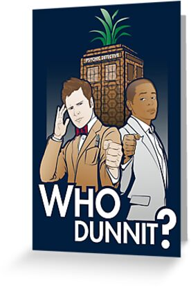 Who Dunnit? Psych Doctor Who by Patrick Scullin