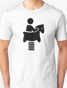 Playground swing horse T-Shirt