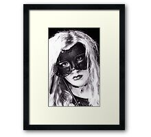 The Masquerade ball Framed Print
