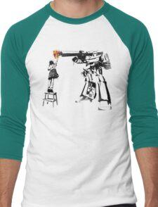 Peace Through Botany Men's Baseball ¾ T-Shirt