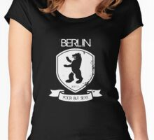 BERLIN POOR BUT SEXY Women's Fitted Scoop T-Shirt