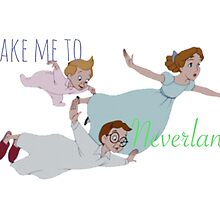 Take Me To Neverland Peter Pan by foreversarahx