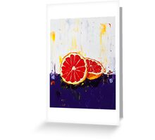 Where Has My Grapefruit Gone? Greeting Card