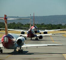 Ready for Takeoff by Caroline Scott