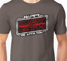 Happy May the 4th! (Slanted) Unisex T-Shirt