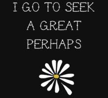 LFA - I Go To Seek a Great Perhaps by Connie Yu