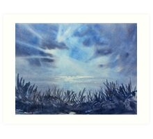 Gathering Clouds Art Print