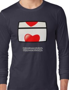 My heart is on vertical hold. Only you can set it straight. Long Sleeve T-Shirt