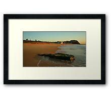 BAR BEACH BAR Framed Print