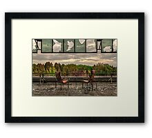 Open Aspect Framed Print