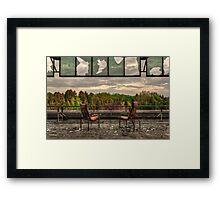 Open Aspect Framed Print