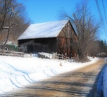 The Barn at Roper Farm: Roper Rd Westminster MA Orton by Rebecca Bryson