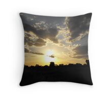 Hiding In The Clouds Throw Pillow