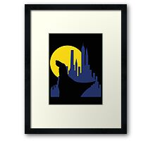 Ruminating Bat Framed Print