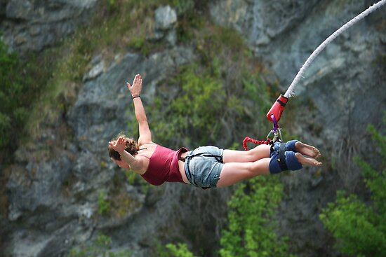 bungy jump by Steve Scully