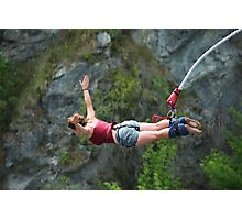 bungy jump Photographic Print