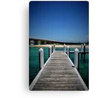 FORSTER DOCK Canvas Print