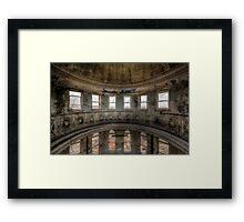 Round & Round Framed Print