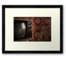 Watching You, Watching Me Framed Print