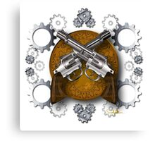 Clockwork Cowboy Canvas Print
