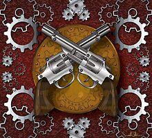 Clockwork Cowboy (Red) by SarahHelena