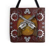 Clockwork Cowboy (Red) Tote Bag