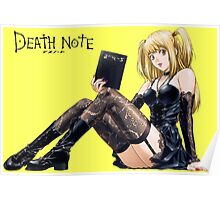 Misa - Death Note  Poster