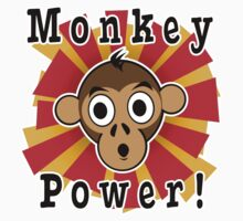Monkey Power Kids Clothes