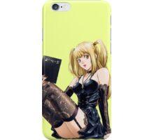 Misa - Death Note  iPhone Case/Skin