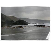 Atlantic Coast at Twilight Poster