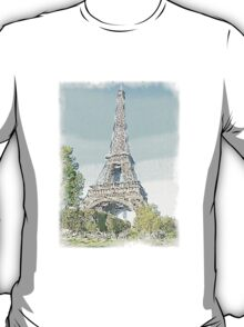 The Eiffel Tower, Paris T-Shirt