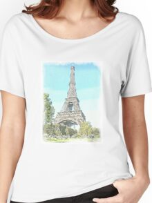 The Eiffel Tower, Paris Women's Relaxed Fit T-Shirt