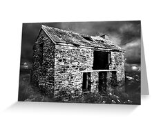 Atmospheric Barn Greeting Card