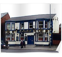 The Woodseats Pub. Poster