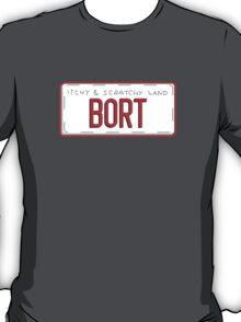 Bort License Plate T-Shirt