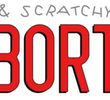 Bort License Plate Sticker