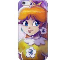 Princess Daisy Portrait Painting iPhone Case/Skin