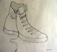 My Big Sneaker by RoyAllen Hunt