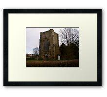 Beauchief Abbey,Sheffield. Framed Print