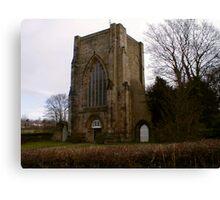 Beauchief Abbey,Sheffield. Canvas Print