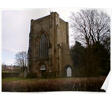 Beauchief Abbey,Sheffield. Poster